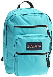JanSport Big Student School Backpack (Blinded Blue) Review