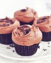 Dark Chocolate Cupcakes with Rich Chocolate Frosting