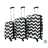 Best Chevron Luggage | Chevron Luggage Sets, Rolling Luggage, Carry On Luggage