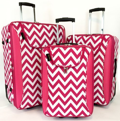 Headline for Best Chevron Luggage | Chevron Rolling Luggage, Carry On and Duffel Bags