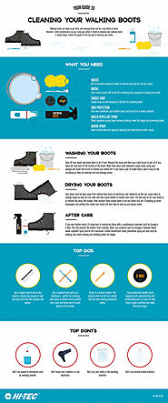 How to Clean Your Walking Boots & Shoes