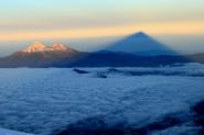 Summit Cotopaxi-Climb above the clouds.