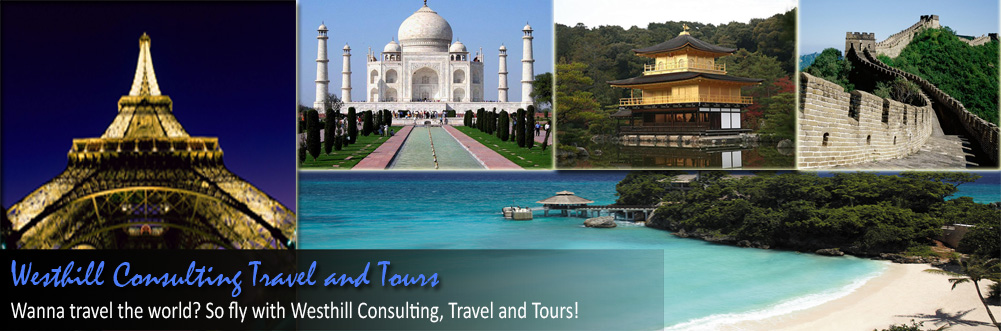 Headline for Westhill Consulting Travel and Tours