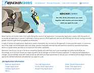 Find a Job | Apply for a Job at Application.careers