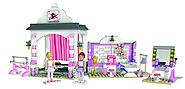 Roll over image to zoom in Mega Bloks American Girl Isabelle's Ballet Recital Construction Set