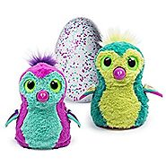 Spin Master Hatchimals Interactive Creature Penguala Hatching Egg, Pink/Teal