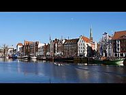 Lübeck, Germany: Old Town, Holstentor, Museum Harbor, Trave - (Full HD 1080p)