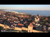 Sunrise flight in Visby