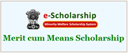 Merit Cum Means Scholarship to Students of Minority Communities