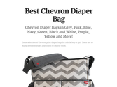 Best Chevron Diaper Bag