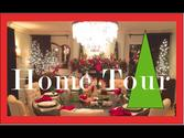 Christmas Decorating Home Tour - Ornament Chandelier