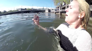 Samsung Dares People to Take Underwater Selfies in a Frigid Lake With the Galaxy S5