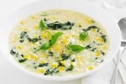 Chicken, Risoni And Spinach Soup