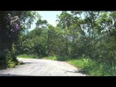 Driving in the mountains in Parati Brazil