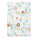 Spring flowers girly mod chic floral pattern cover for the iPad mini from Zazzle.com