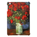 Van Gogh; Vase with Red Poppies iPad Mini Case from Zazzle.com