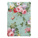 Vintage Elegant Pink Red Roses Pattern iPad Mini Case from Zazzle.com