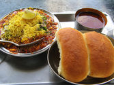 You don't mind having misal and vada pav for breakfast