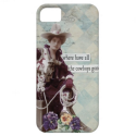 Vintage Western Cowgirl IPhone 5 Case from Zazzle.com