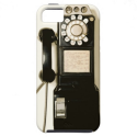 Vintage Pay Phone Telephone iPhone 5 Case Cover from Zazzle.com