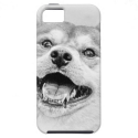 Smiling Shiba Inu dog iPhone 5 Covers from Zazzle.com