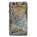 Leopard Portrait Droid RAZR Cover from Zazzle.com