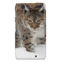 Snow Lynx Droid RAZR Cases from Zazzle.com