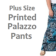 Best Plus Size Printed Palazzo Pants | Ratings and Reviews of XL, XXL 3XL 4XL 5XL