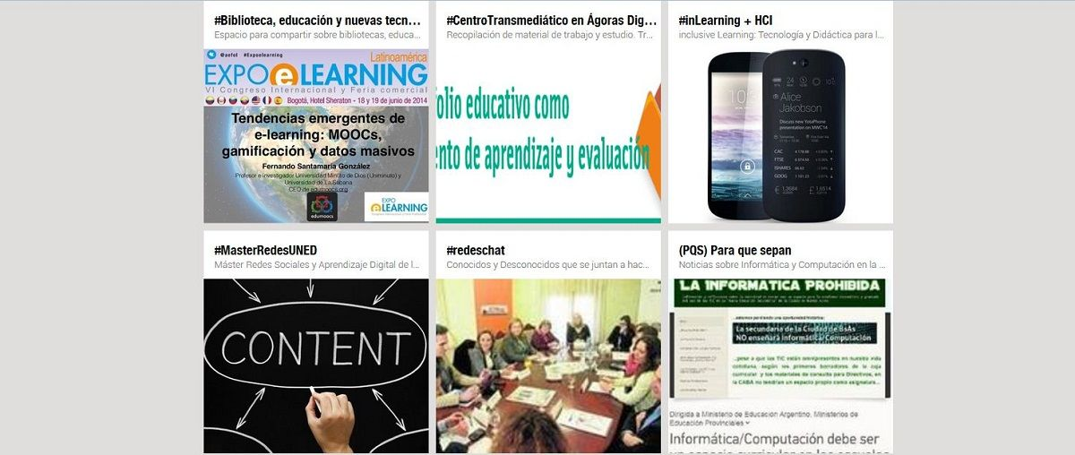Headline for ¿A quiénes seguir en Scoop.it? Content Curation en Educación