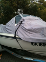 Is the boat cover in good condition?