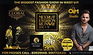 Meerut Fashion Runway 2K17