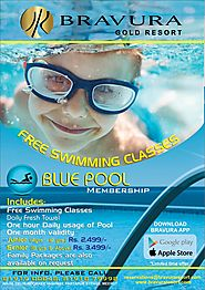 Blue Pool Membership: Learn Swimming or Rejuvenate at one of the Finest Swimming Pool of the City
