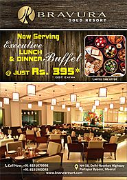 EXECUTIVE LUNCH / DINNER BUFFET @ Just Rs. 395 (GST Extra)