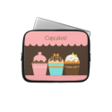 Cupcakes - Laptop Sleeve from Zazzle.com