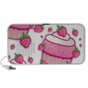 berry cupcakes portable speaker from Zazzle.com