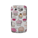 Cupcake Sweet Candy Cake Pattern Blackberry Case-Mate | Fineart Smartphone Cases