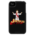 Jesus iPhone 4 Case from Zazzle.com
