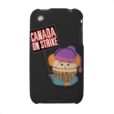 Canada on Strike iPhone 3 Covers from Zazzle.com