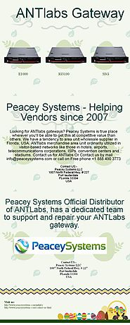 More device connected to your network should not be a concern anymore, move to ANTlabs! | Peacey Systems LLC