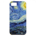 Starry Night Vincent van Gogh iPhone 5 Case from Zazzle.com