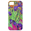 van gogh purple irises iPhone 5 cover from Zazzle.com