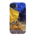 Café Terrace at Night by Vincent van Gogh Vibe iPhone 4 Cases from Zazzle.com