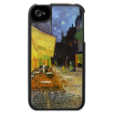 Van Gogh Cafe Terrace at Night Case For The iPhone 4 from Zazzle.com