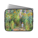 Claude Monet: Monet's Garden at Vétheuil Laptop Computer Sleeves from Zazzle.com