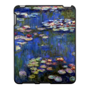 Monet Fine Art Impressionism Lily Pond iPad Case from Zazzle.com