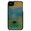 Monet Sunrise Seascape iPhone 4 Case from Zazzle.com