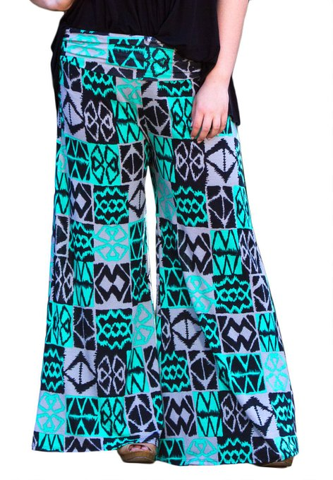 Headline for Best Plus Size Printed Palazzo Pants in XL 2XL 3XL 4XL 5XL