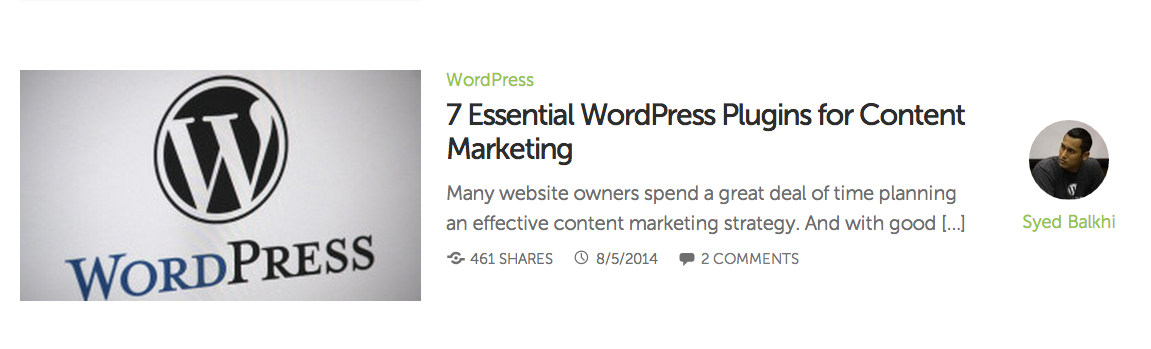Headline for 7 Essential WordPress Plugins for Content Marketing