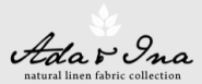 Ada & Ina Natural Linen Fabrics Online. Linen Curtains - Buy Fabric Online UK - Curtain Fabric | Ada & Ina