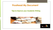 Tips to Improve your Academic Writing | edocr